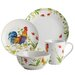 <strong>Meadow Rooster Stoneware 16 Piece Dinnerware Set</strong> by BonJour