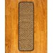 <strong>Cicero Tan Carpet Stair Tread (Set of 13)</strong> by Natural Area Rugs