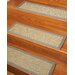 Natural Area Rugs Festival Beige Carpet Stair Tread
