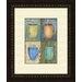 Pro Tour Memorabilia Kitchen Cups 2 Piece Framed Painting Print Set