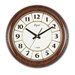 <strong>16.4'' Round Abs Wall Clock</strong> by Opal Luxury Time Products