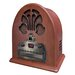 <strong>Crosley</strong> Old-fashioned Cathedral in Paprika CD / Radio