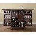 LaFayette Expandable Bar Cabinet in Vintage Mahogany