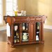 <strong>Alexandria Kitchen Island with Granite Top</strong> by Crosley