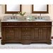 "Lanza Perkin 72"" Vanity Set with Backsplash"