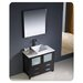 "<strong>Torino 35.8"" Modern Bathroom Vanity Set with Vessel Sink</strong> by Fresca"