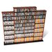 <strong>Quad Wall Mouted Multimedia Storage Rack</strong> by Prepac