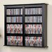 <strong>Floating Wall Mounted Multimedia Storage Rack</strong> by Prepac