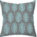 Checkerboard, Ltd Guinea Feathers Polyester Outdoor Throw Pillow