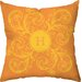 <strong>Personalized Monogram Poly Cotton Throw Pillow</strong> by Checkerboard, Ltd