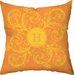 Checkerboard, Ltd Personalized Monogram Poly Cotton Throw Pillow