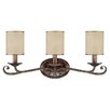 <strong>Capital Lighting</strong> Reserve 3 Light Bath Vanity Light