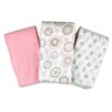 Summer Infant SwaddleMe® 3 Piece Muslin Blanket