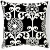 Floret Square Cotton Pillow