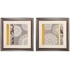 <strong>Propac Images</strong> Contemporary 2 Piece Framed Graphic Art Set