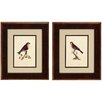 <strong>Propac Images</strong> Selby Birds 2 Piece Framed Graphic Art Set