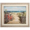 <strong>Propac Images</strong> Summer Ride Crop Framed Painting Print