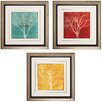<strong>Fallen Leaves 3 Piece Framed Graphic Art Set</strong> by Propac Images