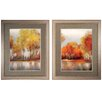 Propac Images Reflections 2 Piece Framed Painting Print Set