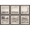 <strong>Propac Images</strong> Citte 6 Piece Framed Painting Print Set