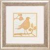 Propac Images Tea Bird 2 Piece Framed Graphic Art Set
