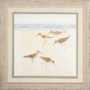 <strong>Sand Pipers 2 Piece Framed Painting Print Set</strong> by Propac Images
