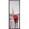Propac Images New York Paris 2 Piece Framed Painting Print Set