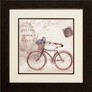 Propac Images Bicycle 2 Piece Framed Graphic Art Set