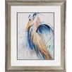 <strong>Propac Images</strong> Heron 2 Piece Framed Painting Print Set
