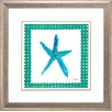 Propac Images Starfish 2 Piece Framed Graphic Art Set