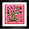 Propac Images Watercolor Roses Framed Painting Print