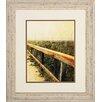 Propac Images Beach Rails 2 Piece Framed Photographic Print Set