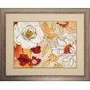 Propac Images Lush Crimson I Framed Graphic Art