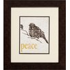 Propac Images Joy Peace 2 Piece Framed Graphic Art Set