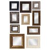 <strong>Propac Images</strong> Mirror Assortment with Frames Wall Decor (Set of 10)