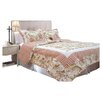 <strong>Textiles Plus Inc.</strong> French Bouquet Quilt Set