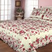 <strong>Textiles Plus Inc.</strong> Rose Garden Quilt Set