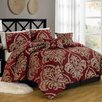 <strong>Textiles Plus Inc.</strong> Imperial Court 6 Piece Comforter Set