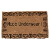 Imports Decor Nice Underwear Doormat