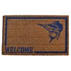 <strong>Imports Decor</strong> Swordfish Doormat