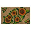 Imports Decor Happy Sunflower Doormat