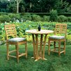 <strong>Mandalay 3 Piece Dining Set</strong> by Kingsley Bate