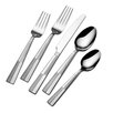 Pfaltzgraff Basics 20 Piece Arabesque Flatware Set