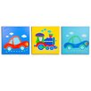 Nuby 3 Piece On The Go Canvas Art Set
