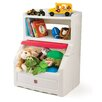 <strong>Lift and Hide Bookcase Toy Box with Lid</strong> by Step2