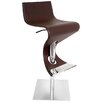 LumiSource Viva Adjustable Height Swivel Barstool