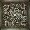 "<strong>Metal Signatures Artesia Mural 12"" x 12"" Decorative Tile in Aged Iron</strong> by Daltile"