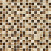 Daltile Stone Radiance Ceramic Mosaic in Caramel Travertine