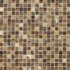 Daltile Stone Radiance Ceramic Mosaic in Butternut Emperador