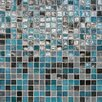 "Daltile City Lights 1/2"" x 1/2"" Glass Unpolished Mosaic in Rio"